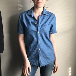 Everlane Short Sleeve Button Up